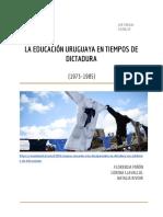 Educación y dictadura PARCIAL
