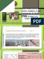 GH.020-COMPONENTES DE DISEÑO URBANO