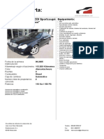 Mercedes c220cdi sportcoupe aut Ref33 0906v