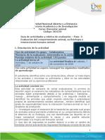 Guia de actividades y Rúbrica de evaluación - Unidad 2 - Paso 3 -  Evaluación del comportamiento animal, su fisiología e interacciones humano animal.pdf