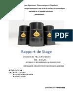 Rapport de Stage STAH   (Récupération automatique)