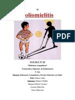 Poliomielitis Enfermería Comunitaria y Práctica Educativa en Salud