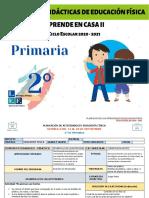 2° de Primaria EF Semana 4 - LEF Antonio Preza