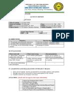 ACTIVITY REPORT PULOT KALAT-CDSS TUDLO