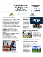 2011 Canada Bread Match Play Details