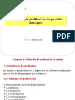 Chapitre 4 (purification des produits chimiques)