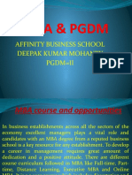 MBA & PGDM