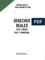 Mariani de Vidal, M.; Abella, A. Derechos Reales en el código civil y comercial. T. 1, pág. 156-183