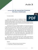 Matemática Básica II - Aula 3