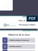 Psicología Política - Teórico 8