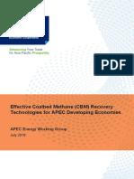 218EWGEffective Coalbed Methane CBM Recovery Technologies for APEC Developing Economies (1) - Copy