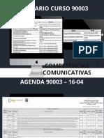 Calendario 16-04 curso 90003