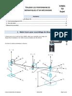 CIN01 TD Sujet - Valider les performances cinématiques d'un mécanisme.pdf