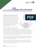 Omniaccess Stellar Oaw Ap1320 Datasheet en