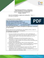 Guia de actividades y Rúbrica de evaluación - Paso 1 - Formular el problema.pdf