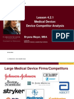 Medical DEvice Competitor Analysis.pdf