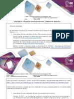 Guía para el uso de recursos educativos – cuadros de análisis