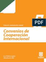 Guía de Contratación Estatal – Convenios de Cooperación Internacional