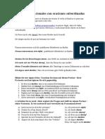 Adverbios preposicionales oraciones subordinadas