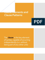 Clause elements and clause patterns.pdf