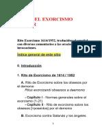 Ritual de exorcismos 1614-1952, traducción.doc