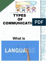 LANGUAGE AND COMMUNICATION-MODULE 1