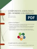 COMPONENTE AXIOLÓGICO DEL HOMBRE COLOMBIANO