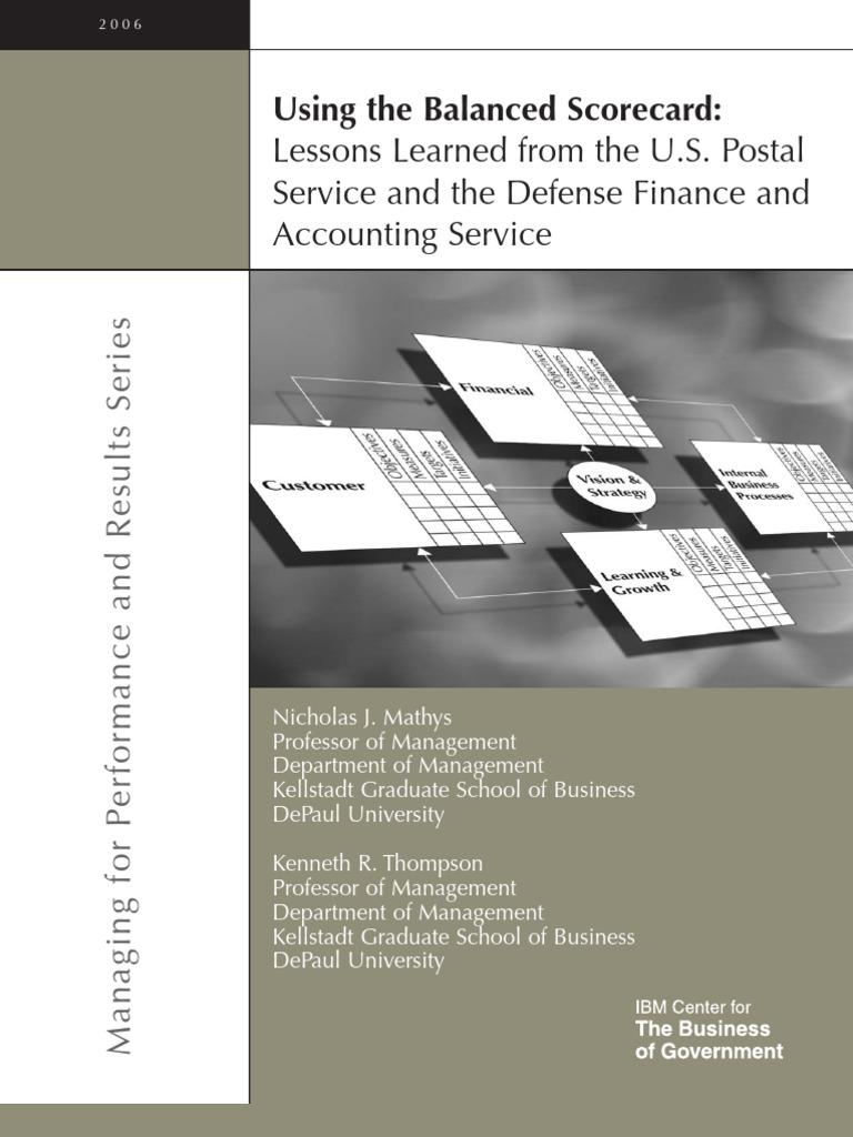 Balanced scorecard usps strategic planning strategic management malvernweather Image collections