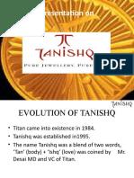 Excom presentation tanishq