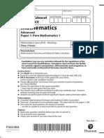 9MA0_01 Pure Mathematics 1