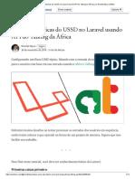 Operações básicas do USSD no Laravel usando API do Talking da África _ por Nicollet Njora _ Médio