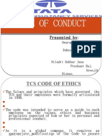Tcs code of ethics