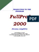 FullProf_Manual
