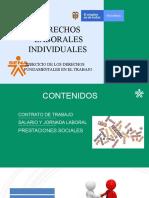 DERECHOS LABORALES INDIVIDUALES