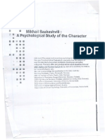 Mikhail Saakashvili - A Psychological Study of the Character