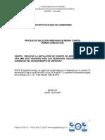 4. PROYECTO DE PLIEGO DE CONDICIONES