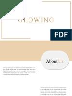 Glowing Presentation Template