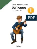 Colección Primeros pasos guitarra