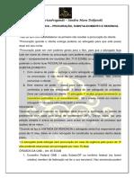 EOAB - Procuração, Substabelecimento e Renúncia