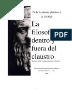 Del a Academia Platonic A a La UNAM