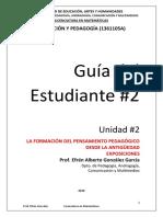 GDE#2_ LA FORMACIÓN PTO PEDAG. ANTIGÜEDAD_2020-I