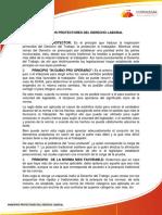 TEMA No 1 PRINCIPIOS PROTECTORES DEL DERECHO LABORALURL