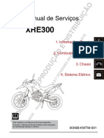Manual Tecnico XRE 300 2016