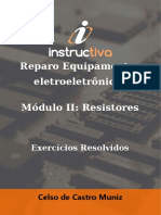 18. Resistores Exercícios Resolvidos