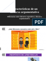 S.1 Diferencias texto expositivo y argumentativo