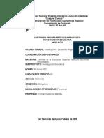 INVESTIGACIÓN EDUCATIVA MODULO 0 2018-I (1)