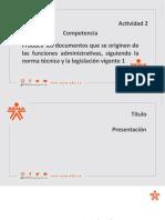 Formato Plantilla de Presentacion SENA