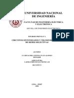 Laboratorio de Electronica 3-INFORME PREVIO N°1