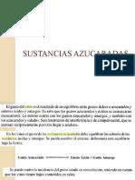 SUSTANCIAS AZUCARADAS