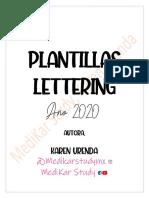 PLANTILLAS LETTERING KAREN URENDA 2020.pdf